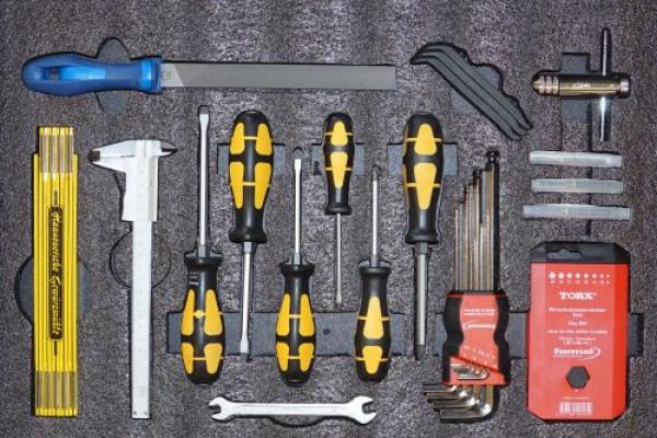 Werkzeugwagen Schublade 1